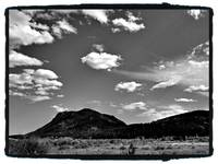 Black and white Rockies