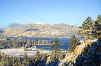 First Snow Big Bear Lake
