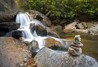 Harmony - WNC Flowing Waterfall Landscape