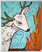 White deer spirit