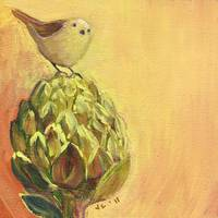 Bird and Artichoke