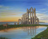 Whitby Abbey - Sunset