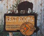 Rest Room sign