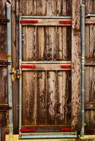 Wood Fence Door