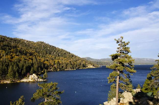 Fall Colors-Big Bear Lake, CA