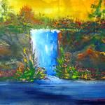Waterfall by Kris Courtney