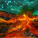 Lava Night by Kris Courtney