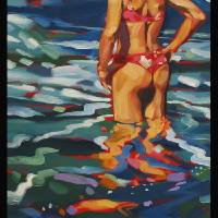 Island Summer Art Prints & Posters by darrell hill