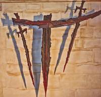 Cross of the Martyrdom in Canterbury Cathedral.