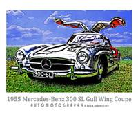 1955 Mercedes-Benz 300 SL Gull Wing