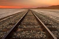 Tracks Through Koehn Dry Lake