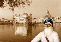 Golden Temple with Baba Deep Singh