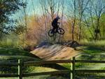 Bike Jump - Boise River Greenbelt