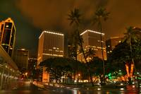 HDR Aloha tower 2am
