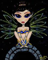 Blue Gold Fairy