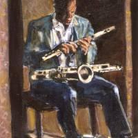 The Musician by Faye Cummings