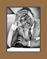 Dr. Martin Luther King, Jr. with Digital Mat
