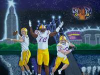 LSU The Spirit of Baton Rouge