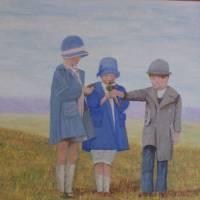 """Picking Flowers on the Prairie"" by thomasmarecek"