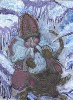Flying Santa Mouse Just For Fun