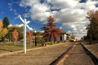 The Susanville Train Depot