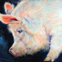 MY PINK PIG LUCKY DAY by Marcia Baldwin