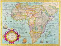 AFRICA, ANCIENT OLD MAP OF AFRICA