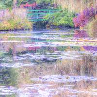 Monet's Lily Pond at Giverny, Pastel