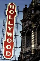 Hollywood Theater sign front