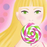 Lollipop Art Prints & Posters by Coco Masuda