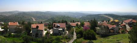 Outside of Har Adar Panorama