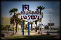 Welcome To Las Vegas Sign Series Holga Color