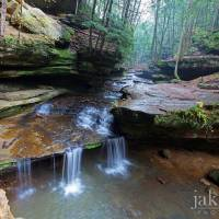 creek @ old man's cave Art Prints & Posters by jaki miller