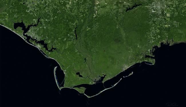 Saint George Florida Map.Cape Saint George Florida By Dave Catts