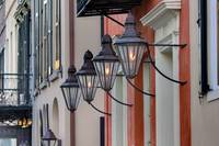 Charleston Gas Lamps Art