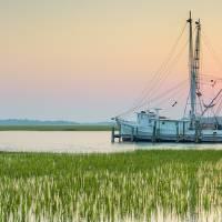 """""""Shrimp Boat Sunset"""" by DustinKRyan"""