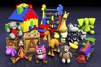 Toys, Fantasy Play for Kids - 3D Model