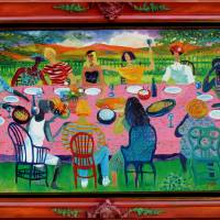 """""""First Supper"""" by Jane_Evershed"""
