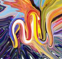 Allah Name Abstract Art Painting