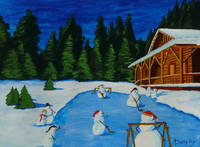 Snowmans Hockey Two