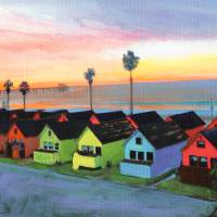 """""""Sunrise Oceanside California"""" by RDRiccoboni"""
