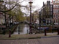 Bicycle & Canal, Amsterdam