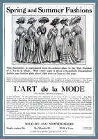L'art de la Mode Advertisement April 1908