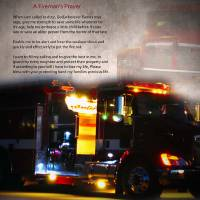 Fireman's Prayer by Lisa Rich