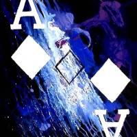 """ABSTRACT GALAXY ACES POKER ART OF DIAMONDS"" by teofaith"