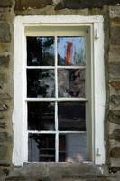 Bevier-Elting House Window & Reflection