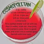COSMOPOLITAN COCKTAIL
