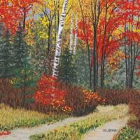 """Birch Trail"" by GeorgeBurr"