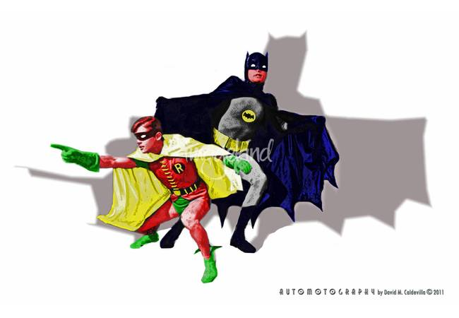 Batman and Robin - Bad Guy Spotted