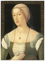 Portrait of a Young Woman by Girolamo di Benvenuto